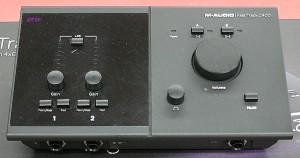 M-AUDIO オーディオインターフェース FAST TRACK C400