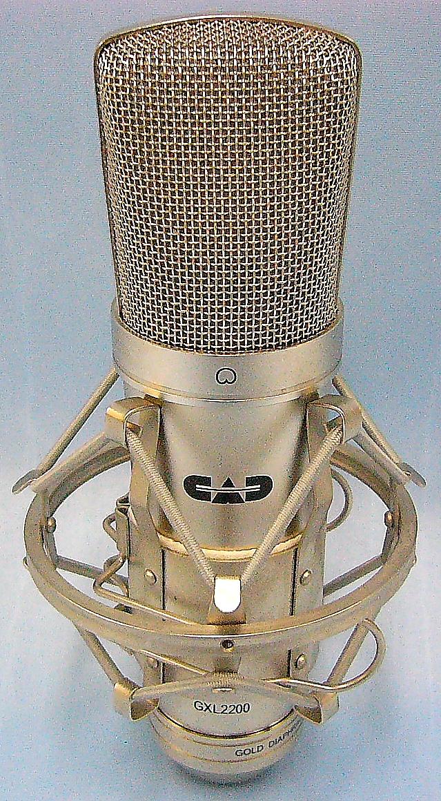 CAD コンデンサーマイク GXL2200