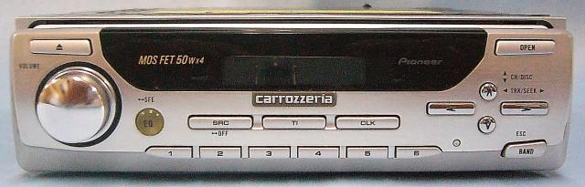 carrozzeria カーCDステレオ DEH-P717