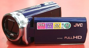 JVC ハイビジョンメモリームービー Everio GZ-E565