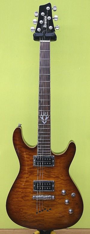Ibanez エレキギター SZ520QM