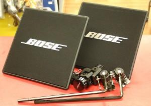 BOSE スピーカー+パンスタンド 111PYB+GMA-3