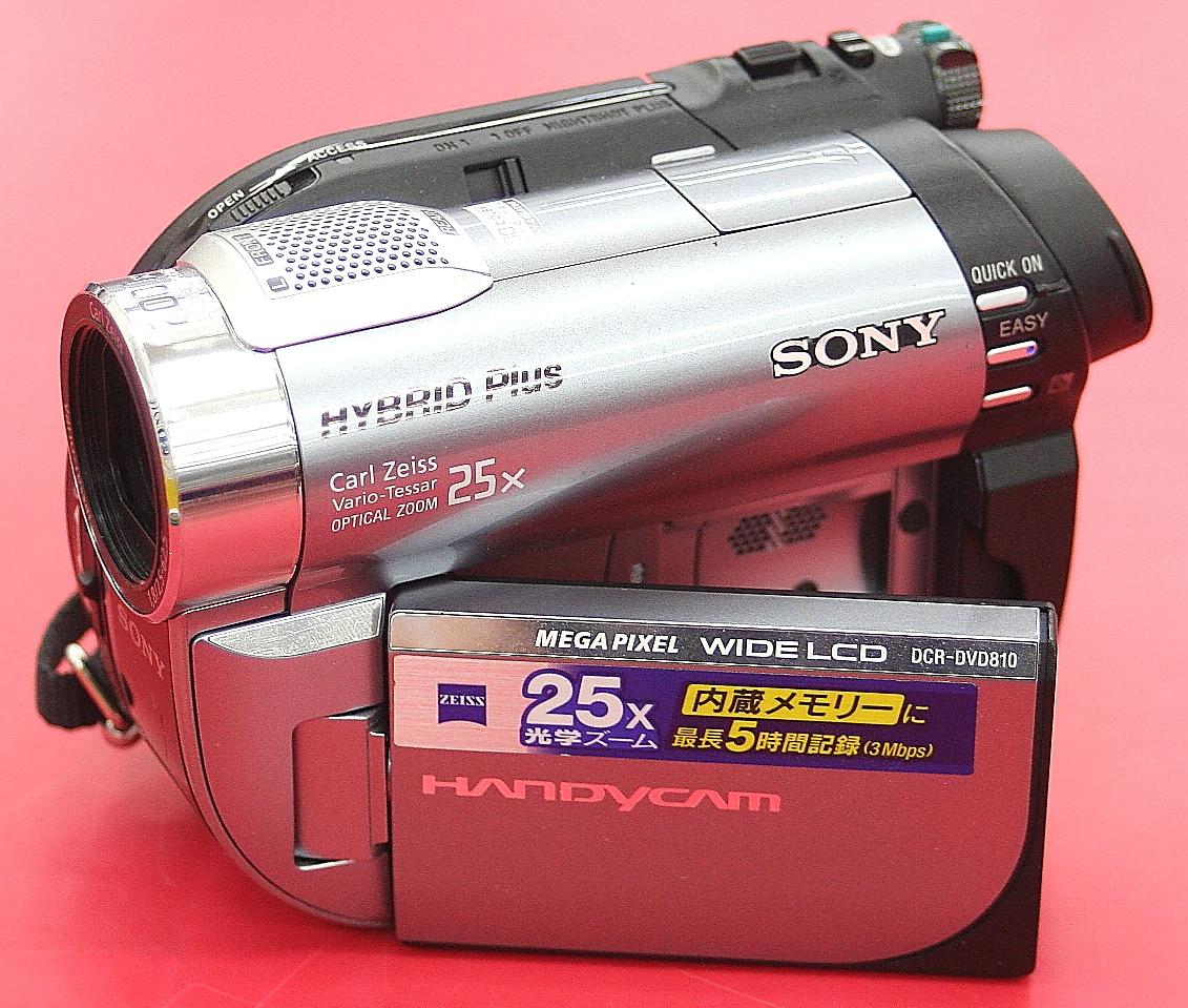 SONY ビデオカメラ DCR-DVD810