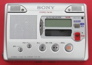 SONY カセットレコーダー TCS-100