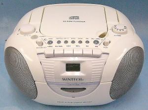WINTECH CDラジカセ CDR-A5