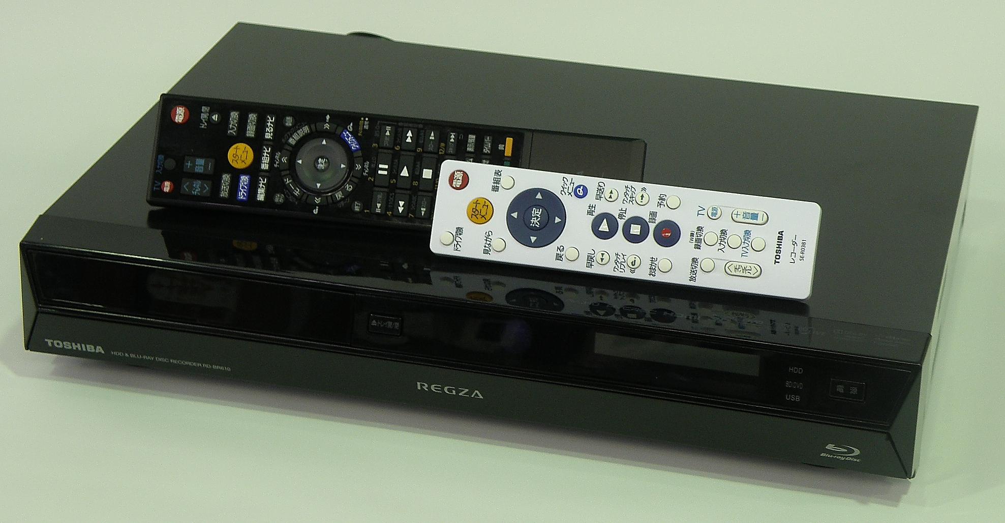 SHARP HDD/BDレコーダー BD-HDW35