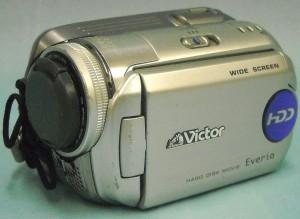 Victor HDDビデオカメラ GZ-MG77