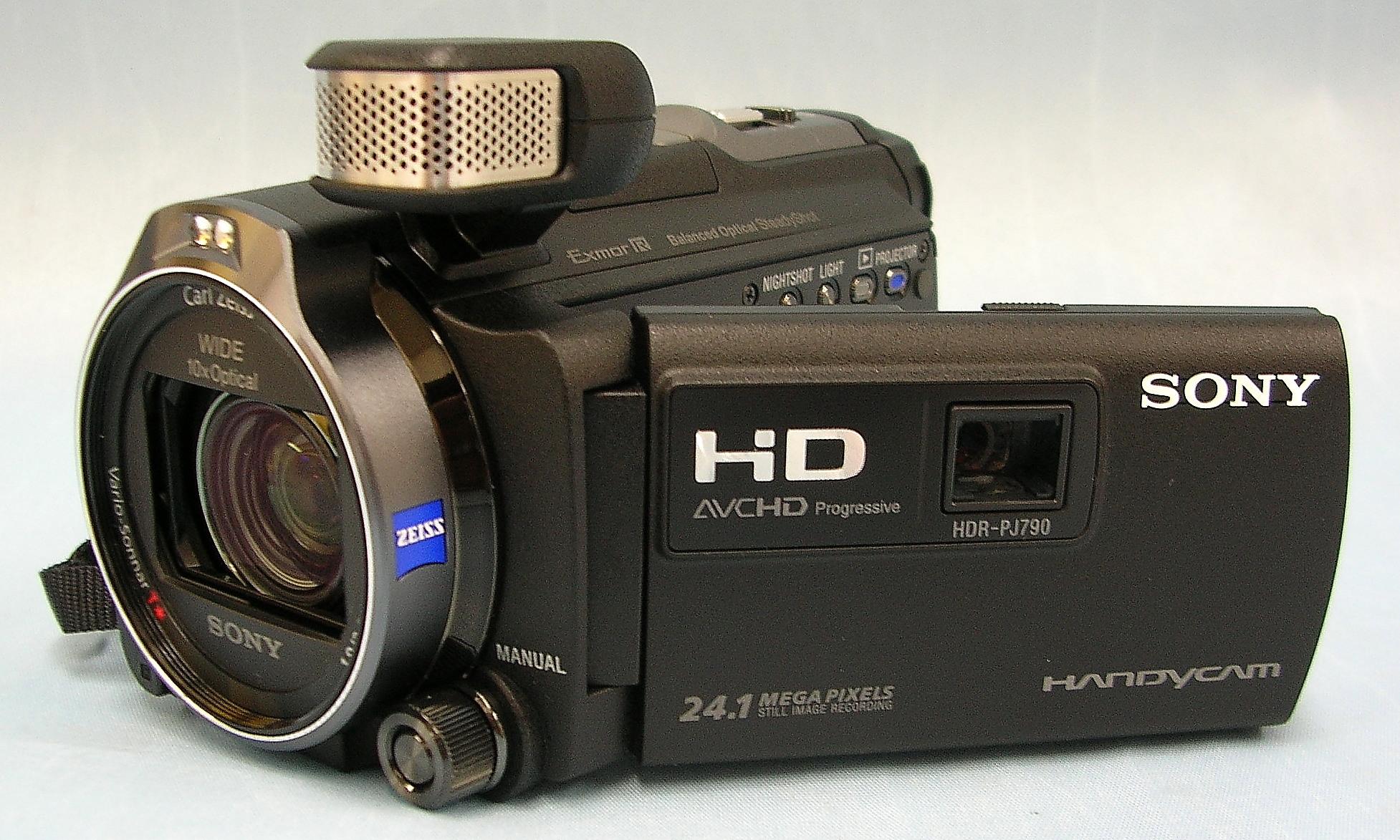 SONY ビデオカメラ HDR-PJ790V