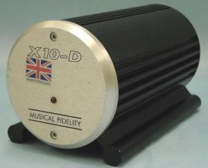 MUSICAL FIDELITY ラインバッファアンプ X10-D