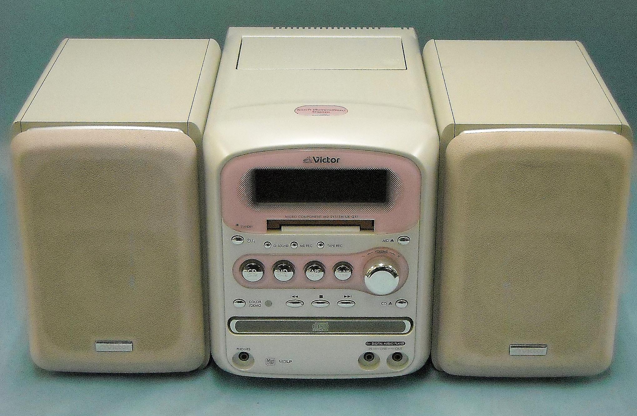 Victor ミニコンポ UX-QX1