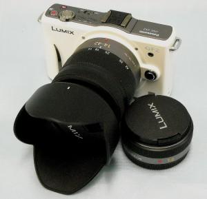 Panasonic デジタルカメラ DMC-GR2W