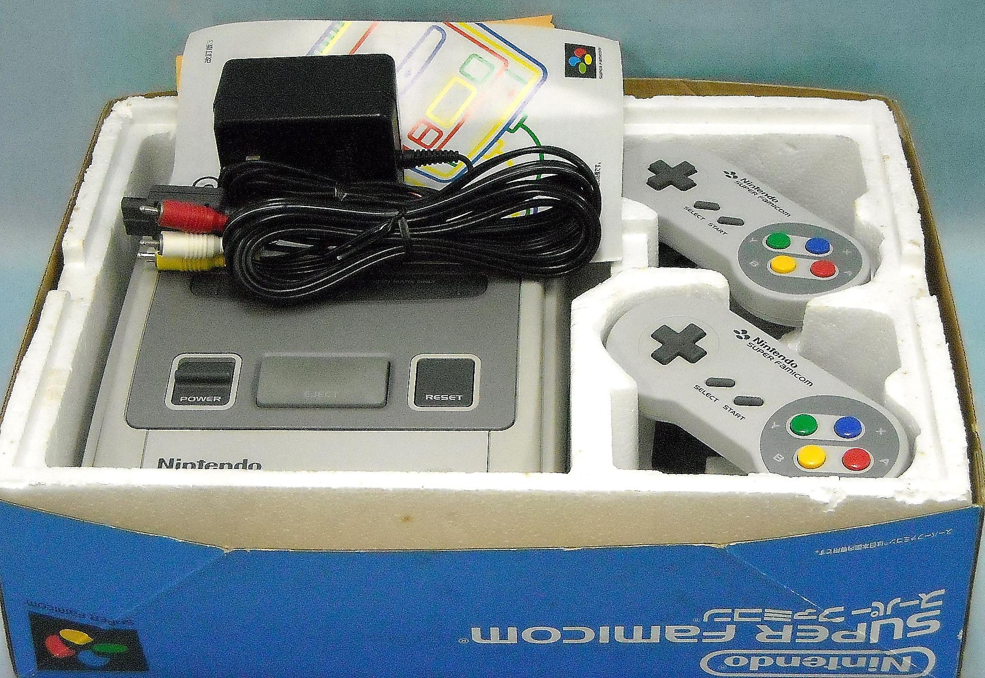 Nintendo  SFC本体  SHVC-001