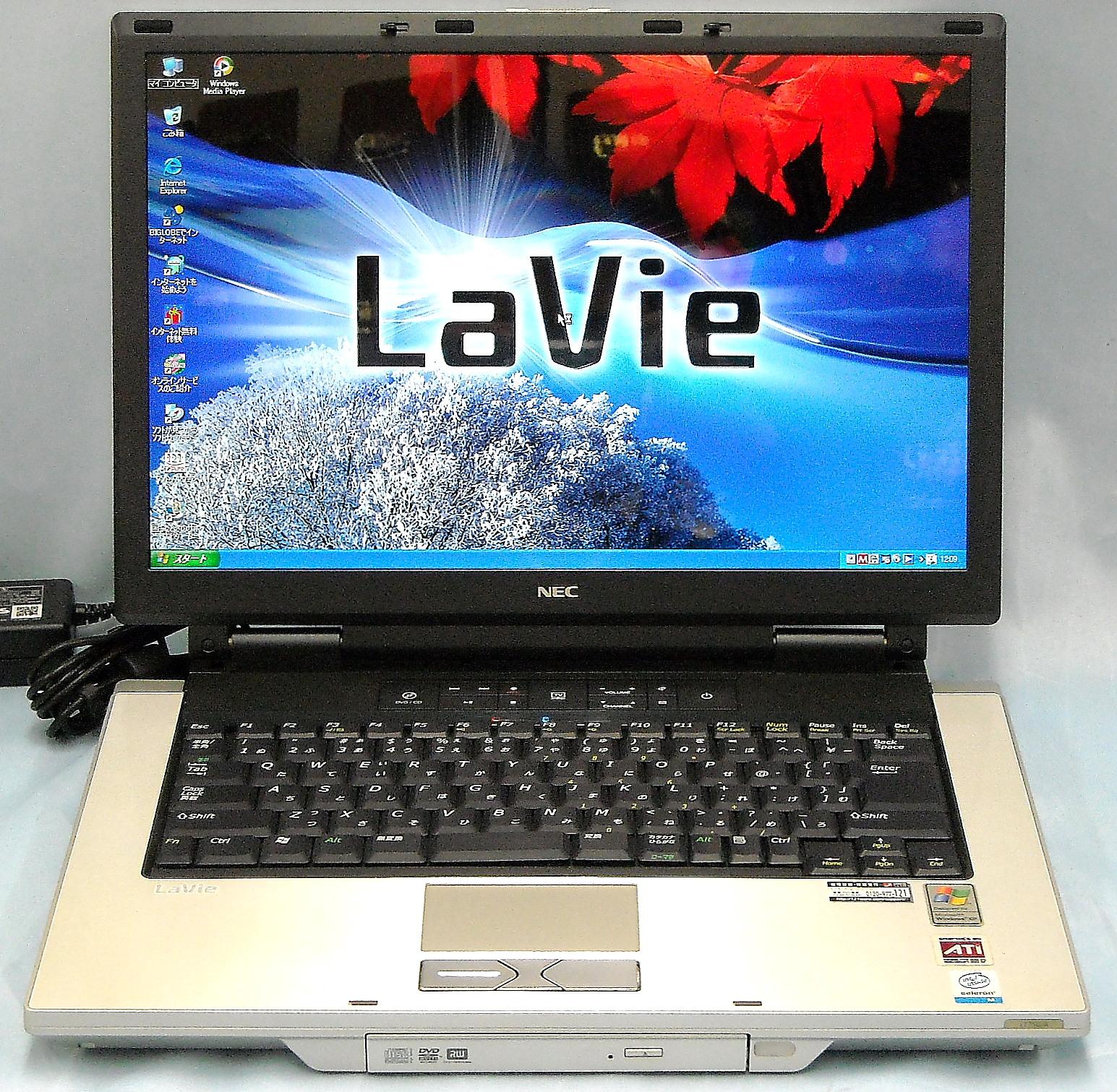 NEC ノートPC PC-LT750AD