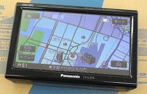 Panasonic ポータブルナビ CN-SL305L