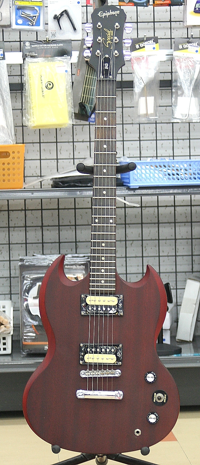 Epiphone エレキギター SG Special with Zebra Pickups