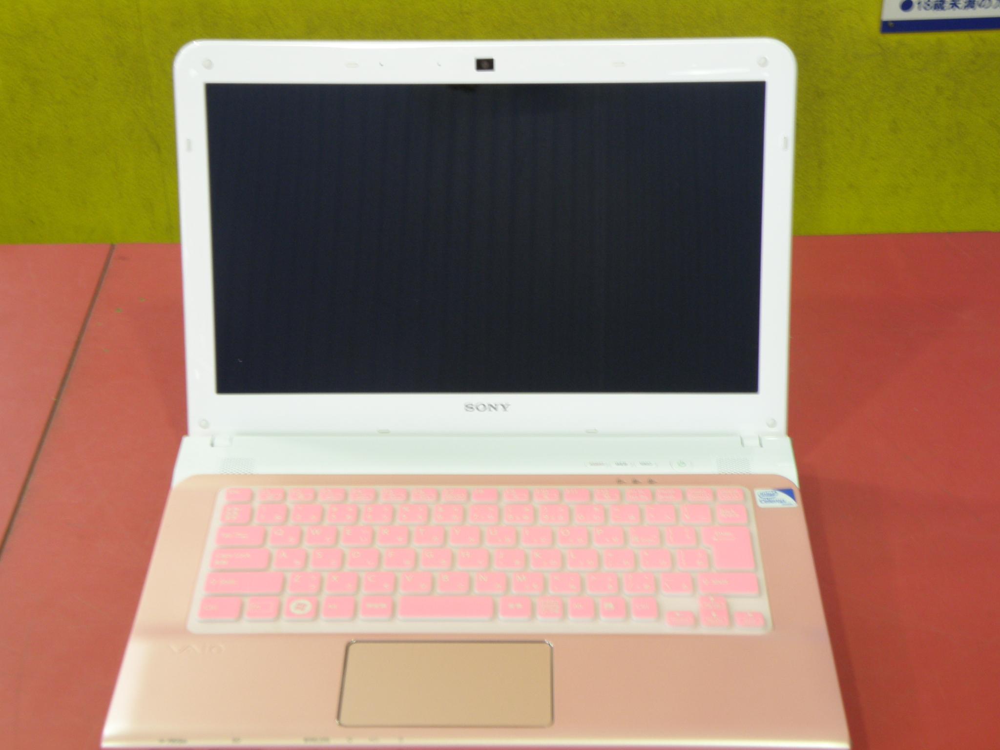 SONYノートパソコン買取|名古屋リサイクルショップ ハードオフ安城