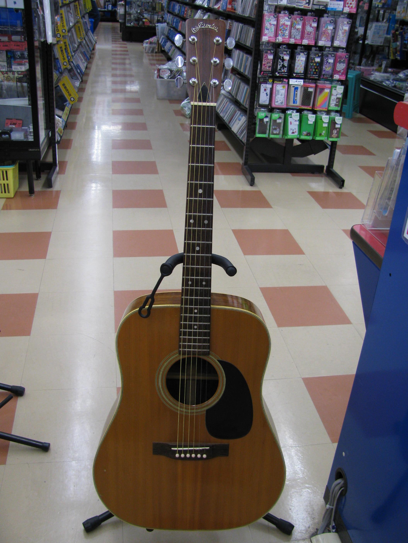 JUMBOアコースティックギター買取|名古屋リサイクルショップ ハードオフ三河安城