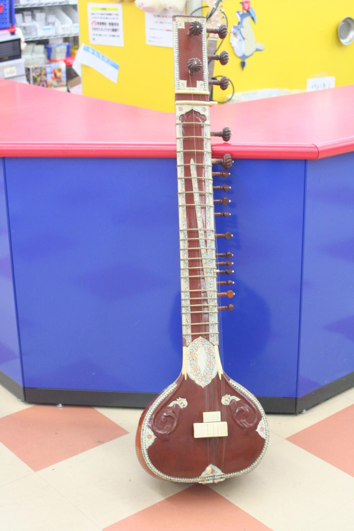 インド民族楽器シタール買取 名古屋の出張買取ならハードオフ三河安城