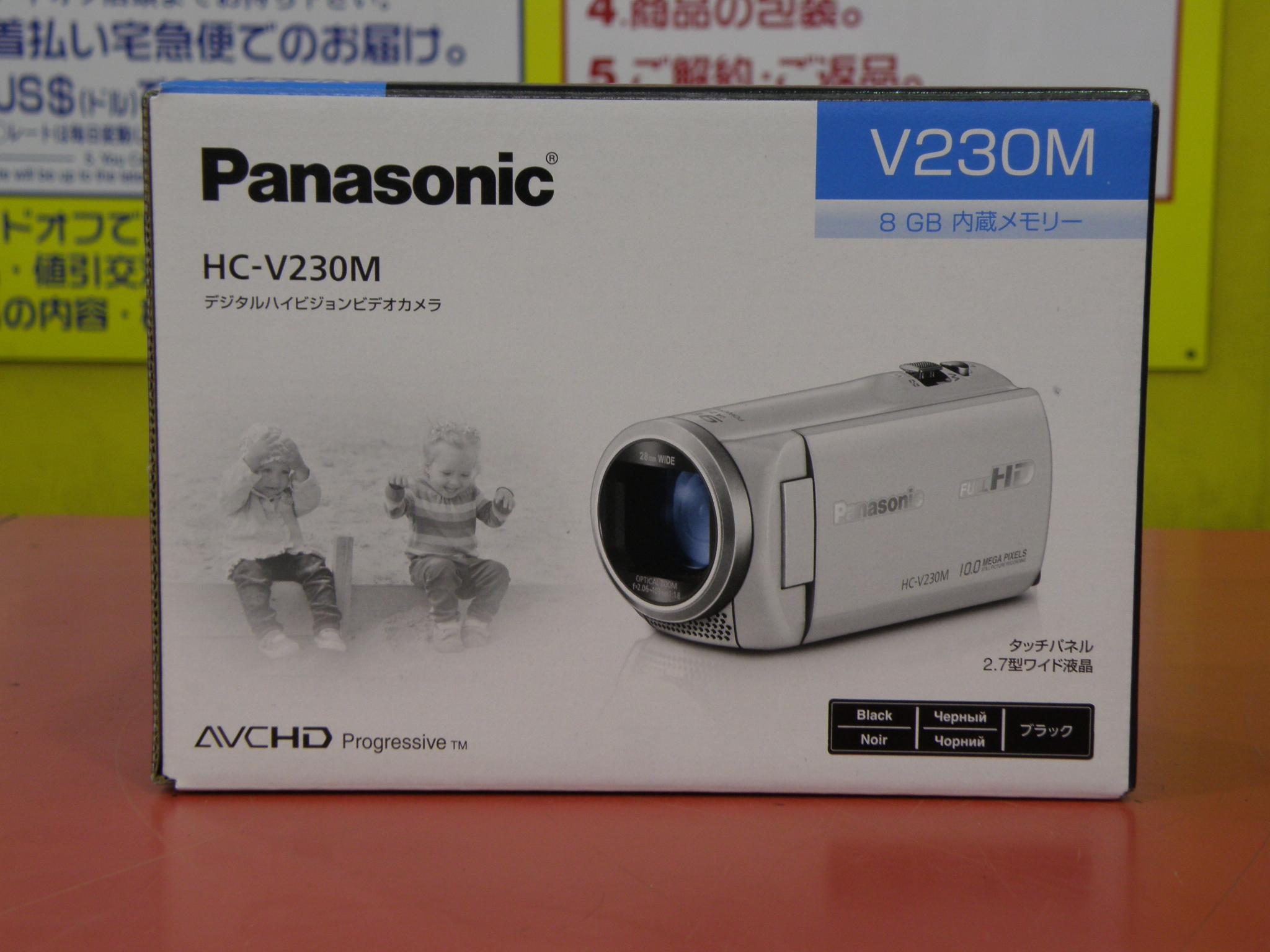 Panasonicビデオカメラ買取|名古屋リサイクルショップ ハードオフ安城