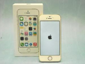 Apple iPhone5S 16GB ME334J/A ゴールド│ハードオフ西尾店