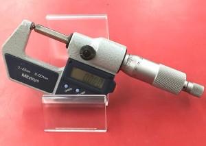 ミツトヨ デジタルマイクロメーター 0-25mm 0.001mm│ハードオフ豊田上郷店