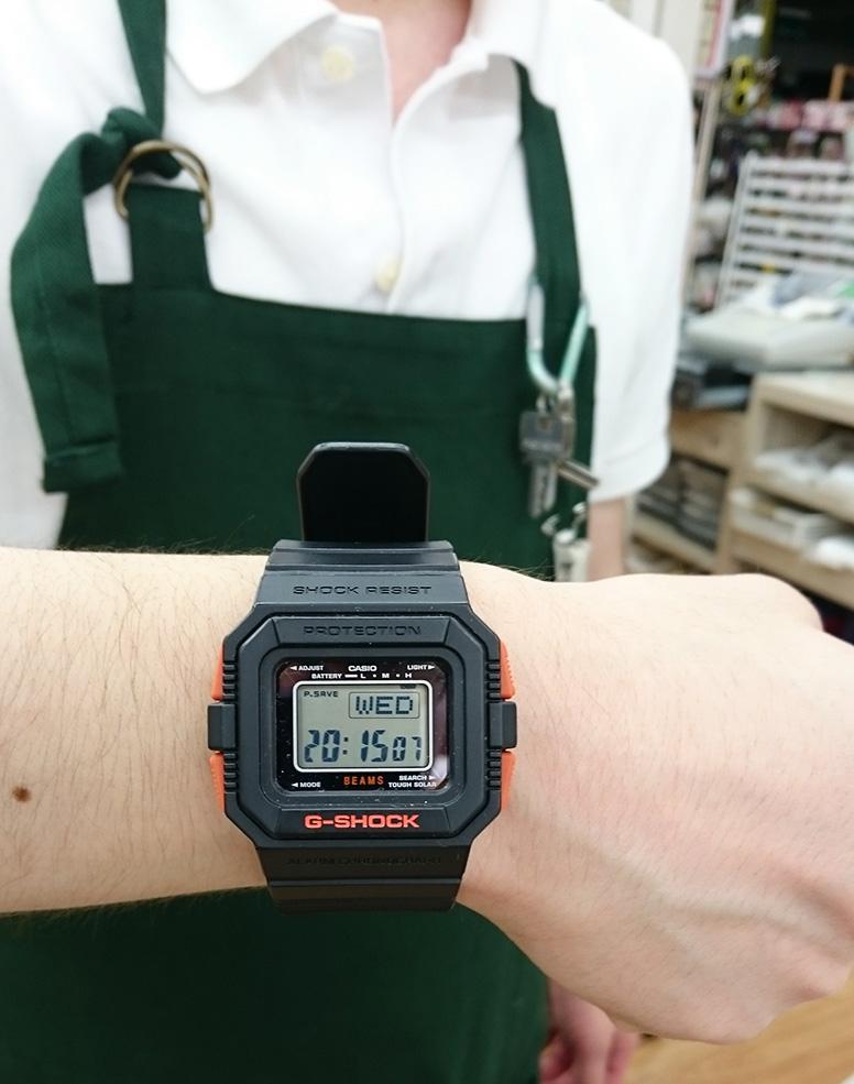 Gshock×BEAMSコラボモデル|名古屋・三河の総合リサイクルショップ オフハウス西尾店
