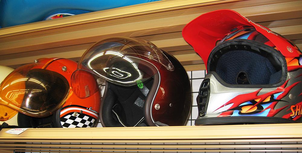 バイカー御用達ヘルメット☆ 名古屋・三河の総合リサイクルショップ オフハウス三河安城店
