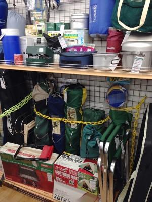 キャンプ用品が充実|名古屋・三河の総合リサイクルショップ オフハウス豊田上郷店