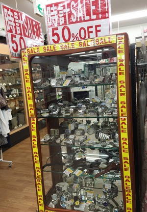 時計セール中|名古屋・三河の総合リサイクルショップ オフハウス西尾店