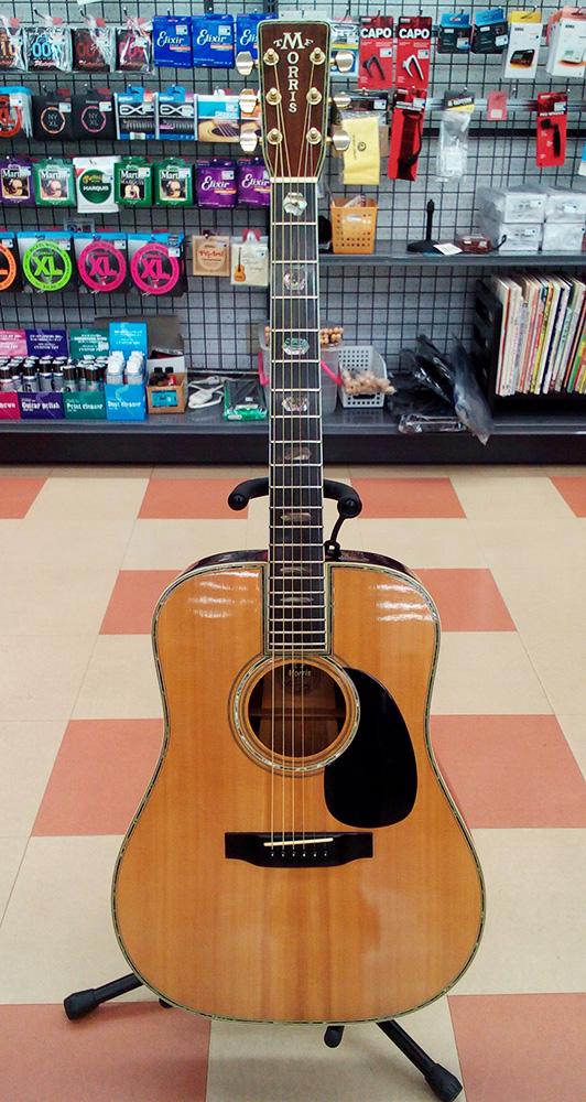 Morris アコースティックギター Wー100 入荷しました!!|名古屋・三河の総合リサイクルショップ ハードオフ三河安城店
