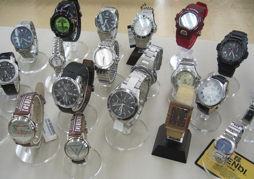 腕時計が好調!!たくさん新商品を出します!!|名古屋・三河の総合リサイクルショップ オフハウス三河安城店