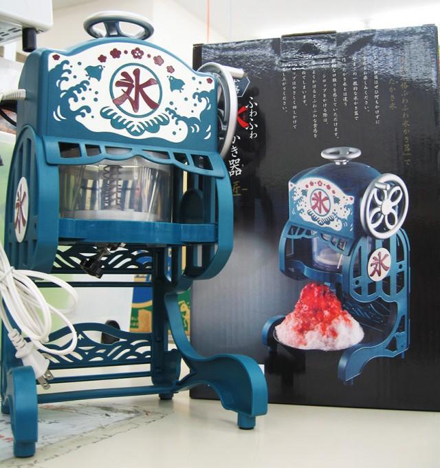 レトロな雰囲気のかき氷器入荷です!!| オフハウス三河安城店