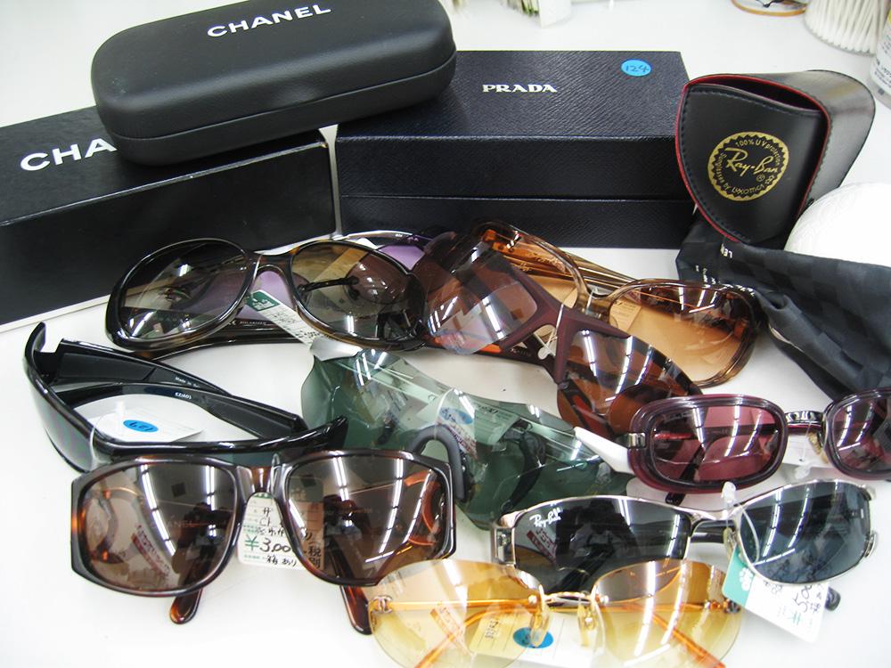 これからの季節必須アイテムのサングラスたくさん出します!!  オフハウス三河安城店