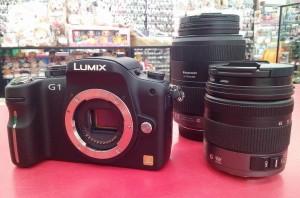 Panasonic デジタル一眼カメラ DMC-G1│ハードオフ三河安城店