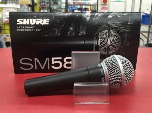 買取◇SHURE SM58 ダイナミックマイク|ハードオフ豊田上郷店
