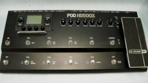 LINE6 マルチエフェクター POD HD500X| ハードオフ西尾店