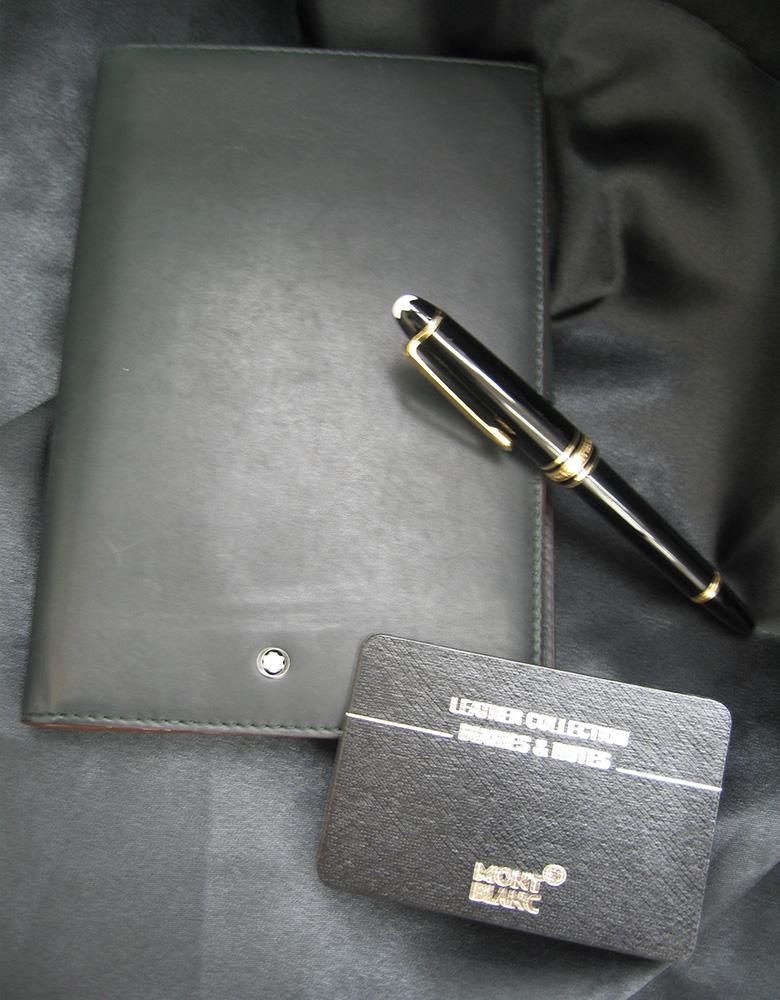 MONTBLANC のシステム手帳を入荷しました!!!| オフハウス三河安城店