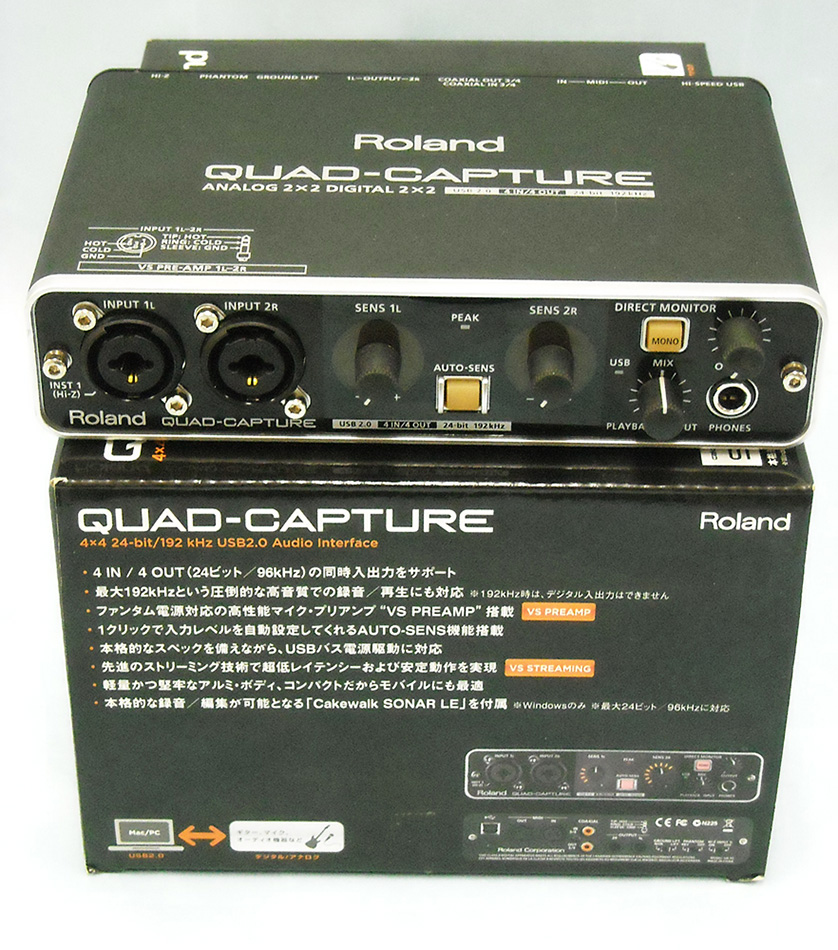Roland USB AUDIO Interface| ハードオフ西尾店