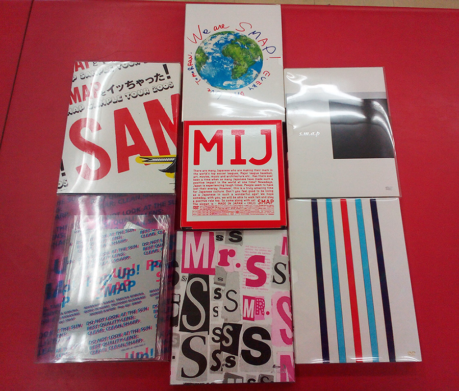 SMAP CD/DVD 大量入荷しました!!| ハードオフ三河安城店