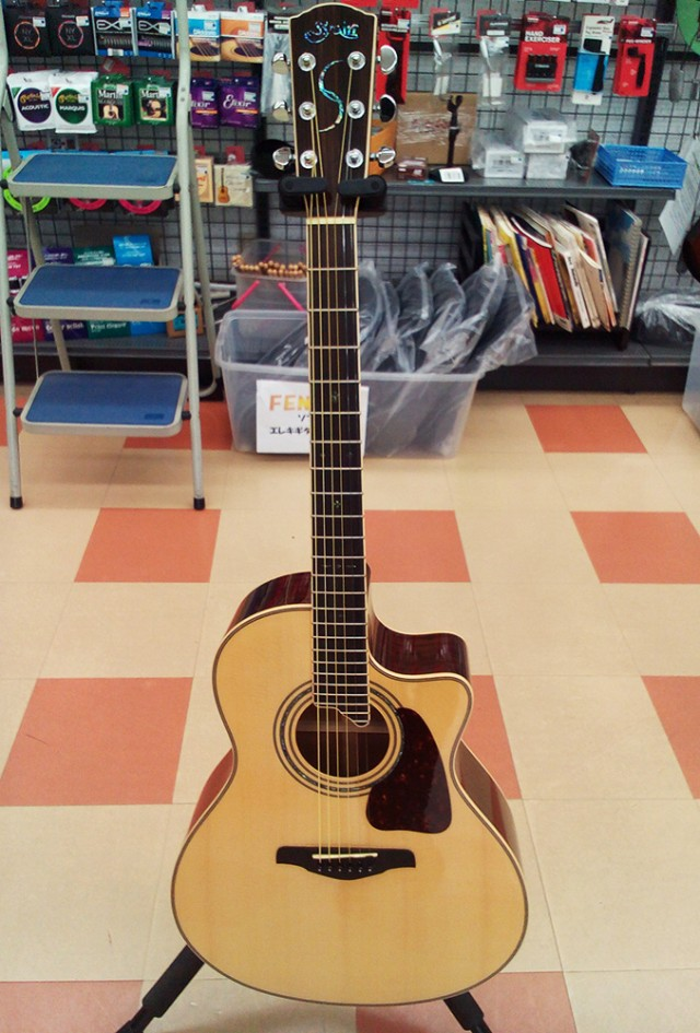 S.YAIRI エレアコギター 入荷しました!| ハードオフ三河安城店