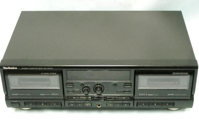Technics Wカセットデッキ RS-TR575| ハードオフ西尾店