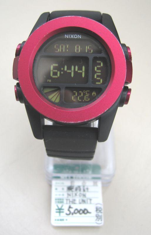 NIXON 腕時計 THE UNIT入荷!| オフハウス三河安城店