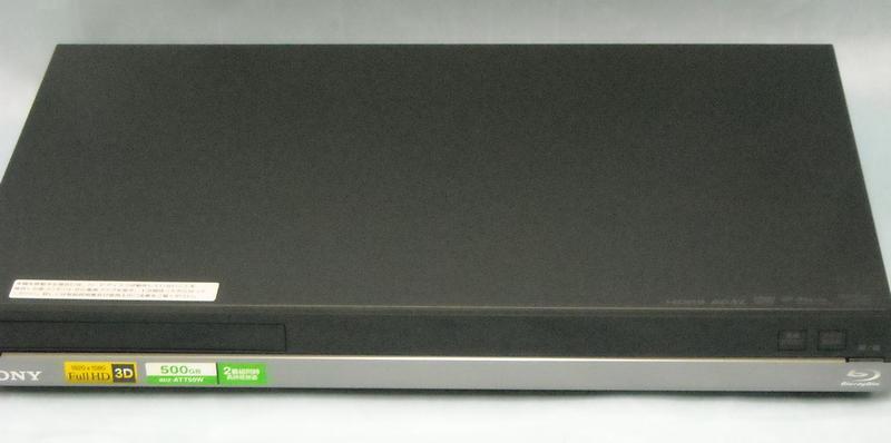 SONY BDレコーダー BDZ-AT750W  ハードオフ西尾店