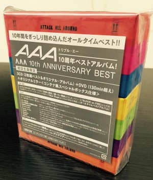AAA 10th ANNIVERSARY BEST| ハードオフ豊田上郷店