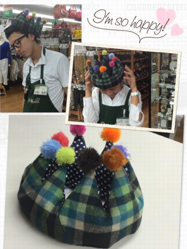 かわいい帽子&スタッフ紹介(*>▽<*)| オフハウス西尾店