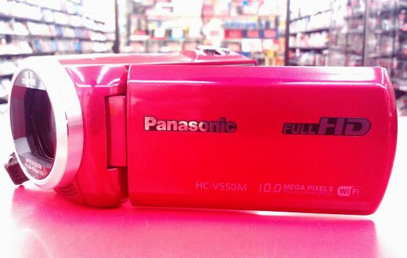 Panasonic ビデオカメラ HC-V550M入荷!  ハードオフ三河安城店