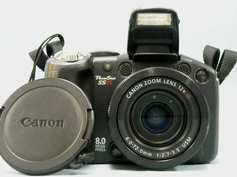 Canon デジタルカメラ PowerShot S5 IS  ハードオフ西尾店