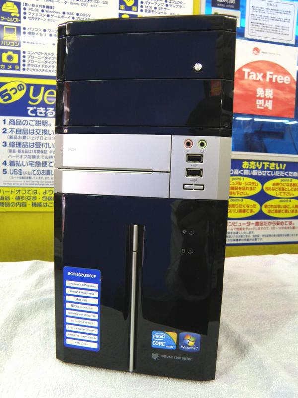 mouse computer ゲーミングパソコン| ハードオフ安城店