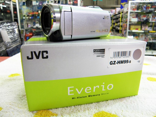 JVC ハイビジョンメモリームービー| ハードオフ安城店