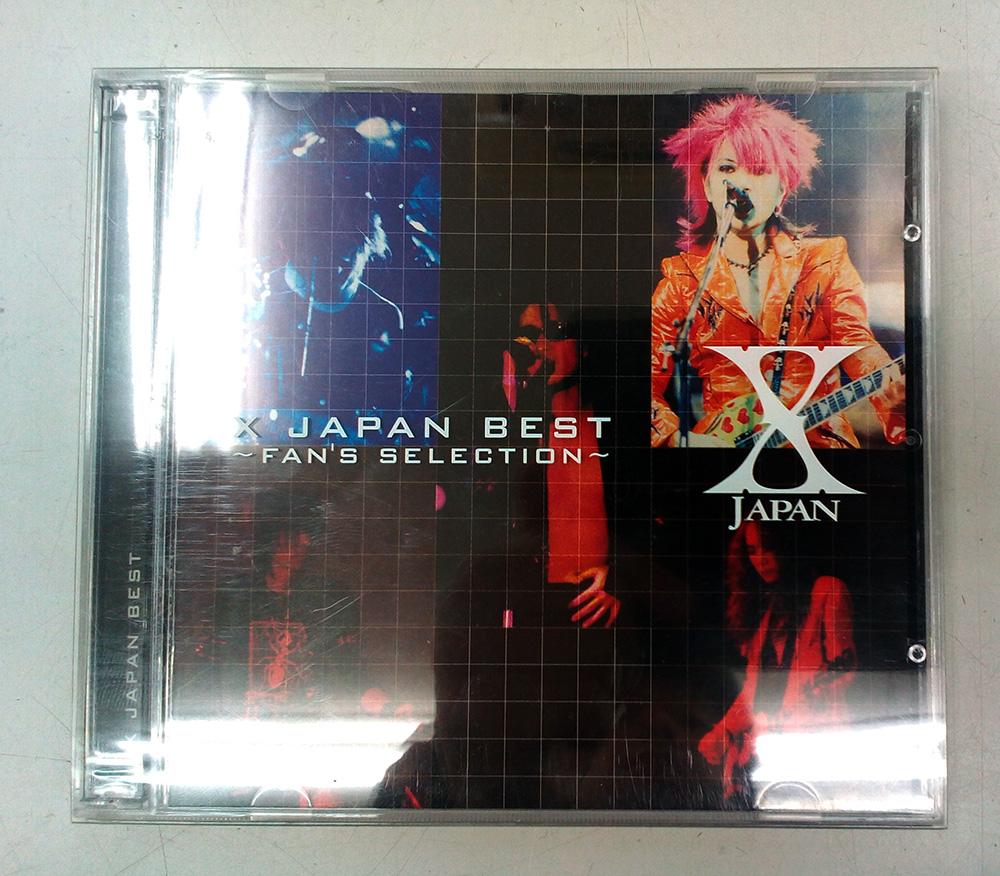 「X JAPAN BEST~FAN'S SELECTION」の入荷です!!| ハードオフ三河安城店
